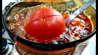 닌자 초고속블렌더로 홈메이드 스테비아 토마토쥬스 만들기…