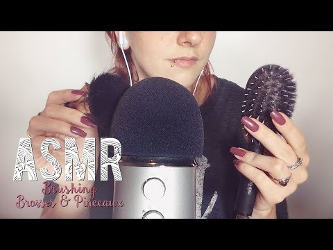 ASMR Français - Relaxation ~ Brushing / Brosses & Pinceaux