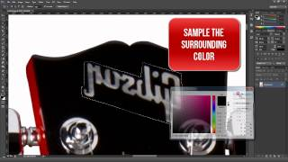 tutorial - change a right handed guitar into a lefty using photoshop