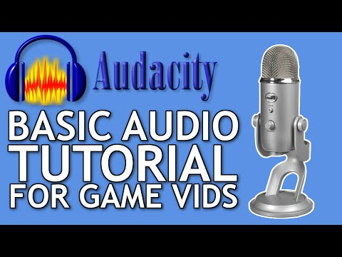 Basic Audacity Editing Tutorial for Gaming Videos (Noise Removal, Compression)