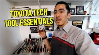 TOYOTA TECHNICIAN TOOLS YOU NEED (ENTRY LEVEL)