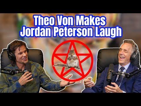 Theo Von Makes Dr. Jordan Peterson Laugh