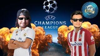 SEMIFINAL DE LA CHAMPIONS! REAL MADRID VS ATLETICO DE MADRID FUT DRAFT VS SERGIOGAMEPLAYER - FIFA17