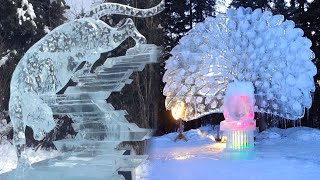 Most UNBELIEVABLE ICE SCULPTURES You Can't Imagine