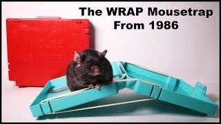"A Vintage Plastic ""Suitcase"" Rubber Band Mouse Trap. The WRAP Trap From 1986. Mousetrap Monday"
