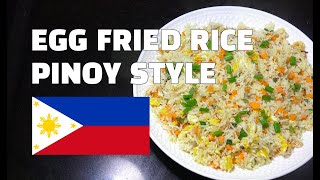 Egg Fried Rice - Pinoy Style Egg Fried Rice - Filipino Recipes - Tagalog