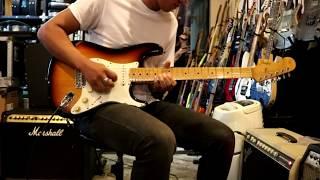 Fender Jimi Hendrix Voodoo Original 1997 Sunburst