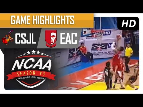 CSJL vs. EAC | NCAA 93 | MB Game Highlights | July 18, 2017