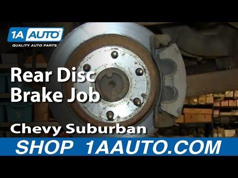 How to Replace Rear Brakes 02-06 Chevy Silverado