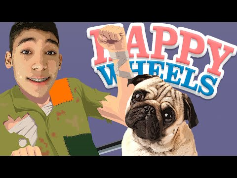 SHAKE COME TUDO !!  - HAPPY WHEELS