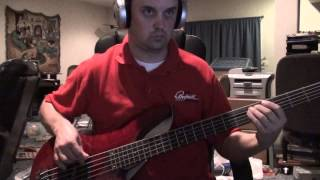 Queensryche - Another Rainy Night (Without You) - Bass Cover