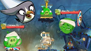 Angry Birds 2 - POP HEAD ALL KING PIG PANIC GAMEPLAY PART 24!
