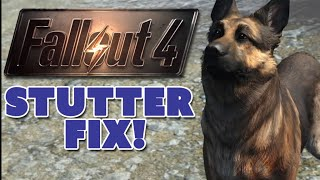 Fallout 4 Stuttering FIXED? - The Know