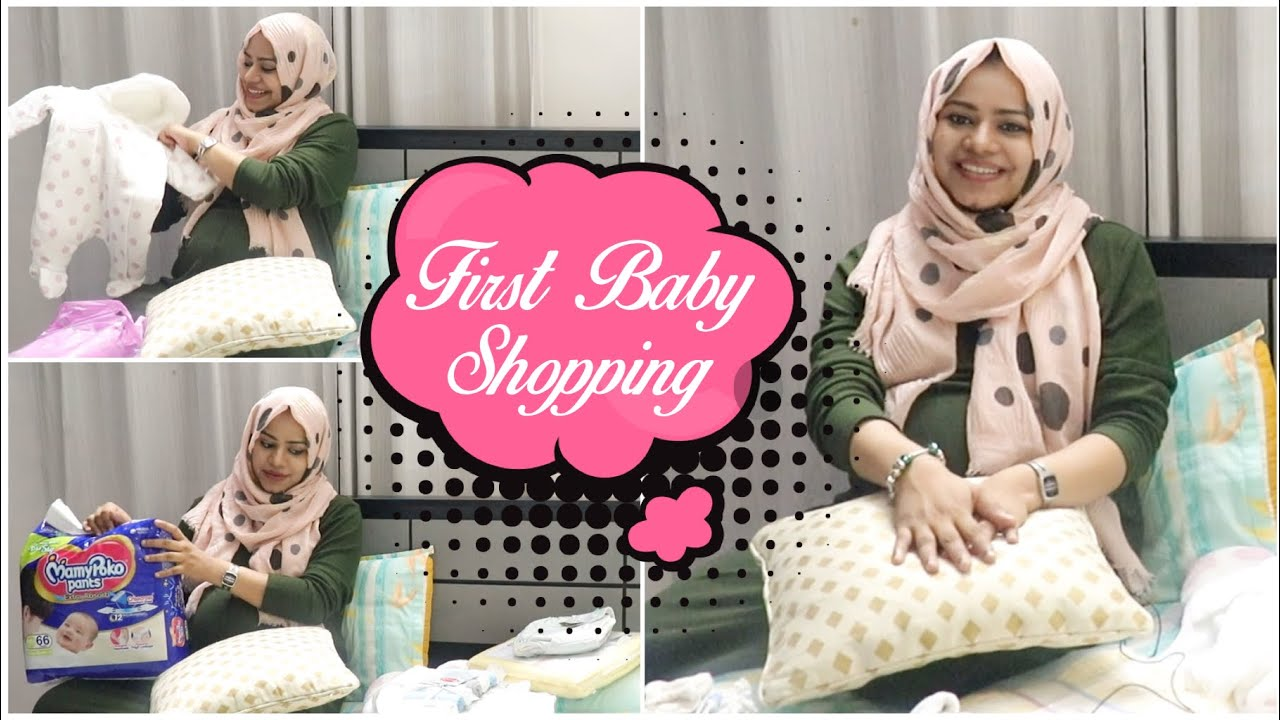Baby Shopping before Delivery / Zulfia's Recipes / Mama & Baby Series