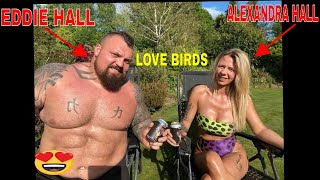EDDIE HALL AND HIS WIFE
