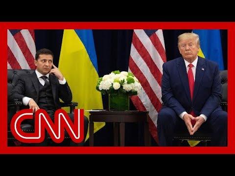 Source: Ukrainian president felt pressure from Trump before taking office