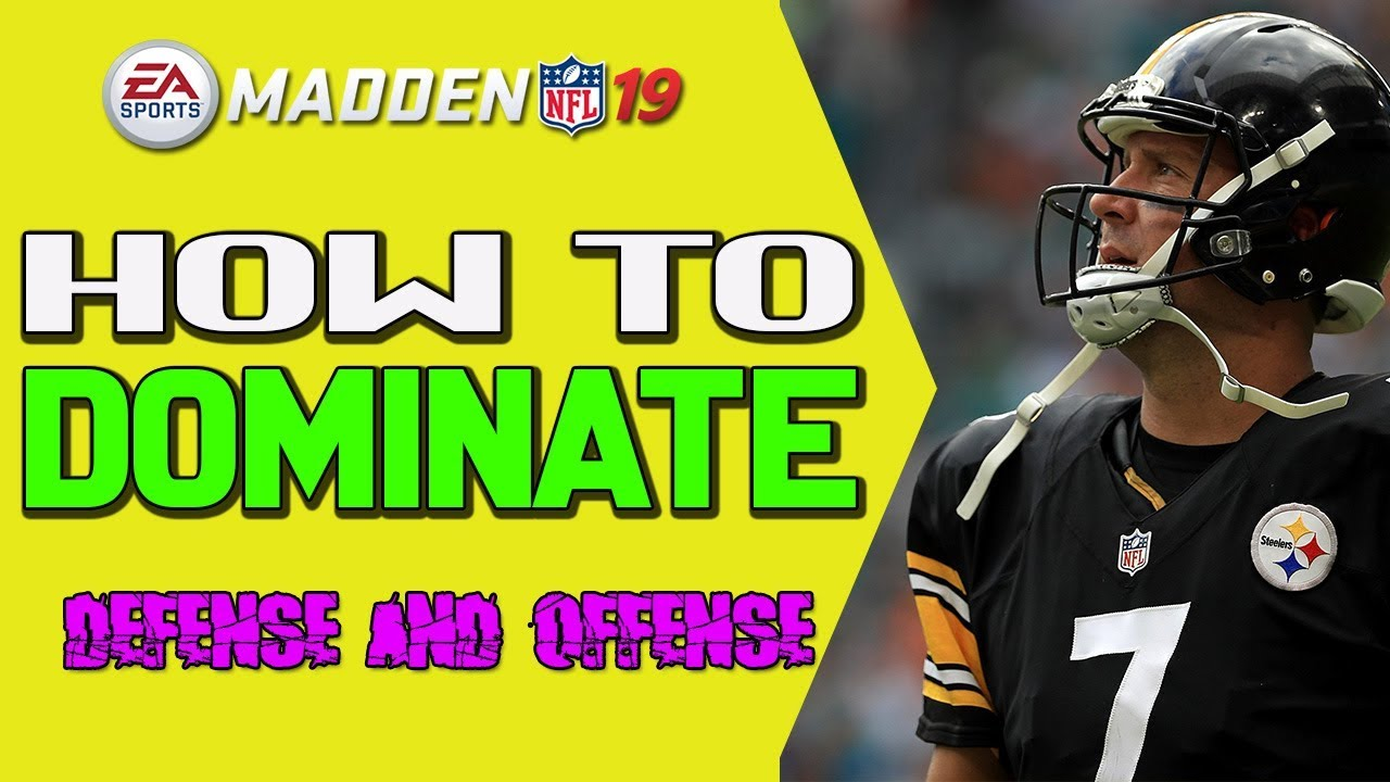 New Best Defensive And Offensive Scheme In Madden 19!!