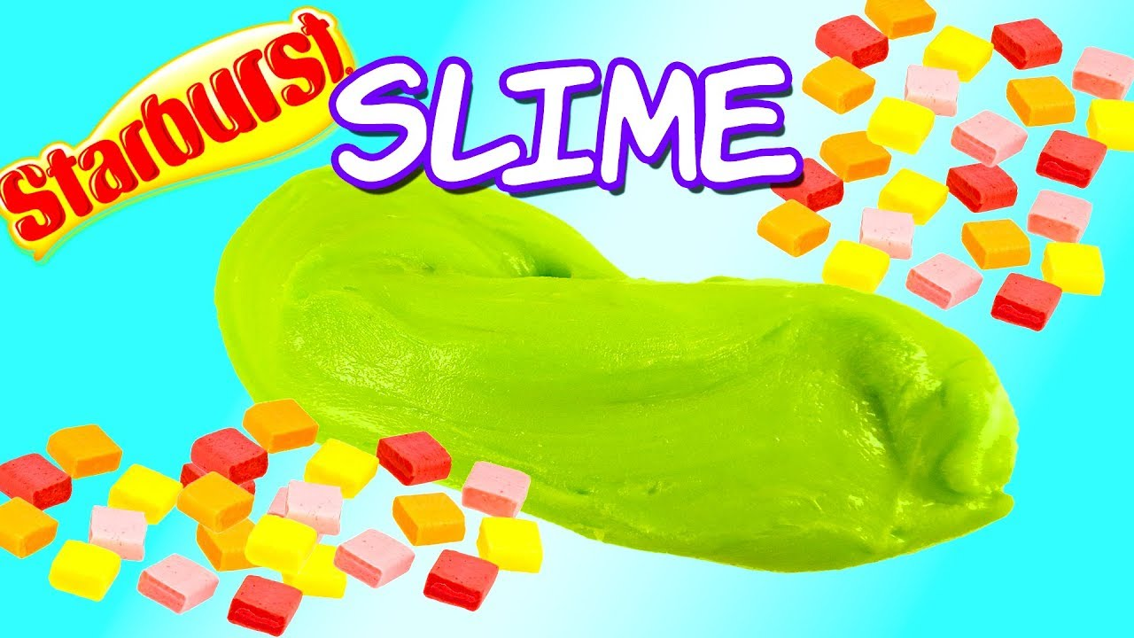 dcecf4dd609a DIY Starburst Edible Slime! Rainbow Slime Candy You Can Eat! How to Make  Slime - Easy!
