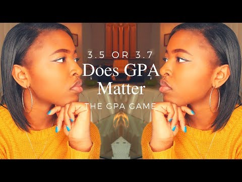 Does GPA Matter When Applying to College?