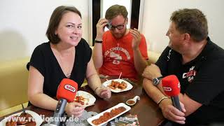 Die Currywurst wird 70