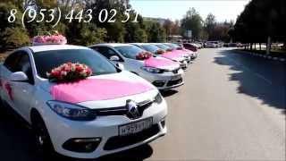 Свадебный кортеж в Новомосковске , Тульской области