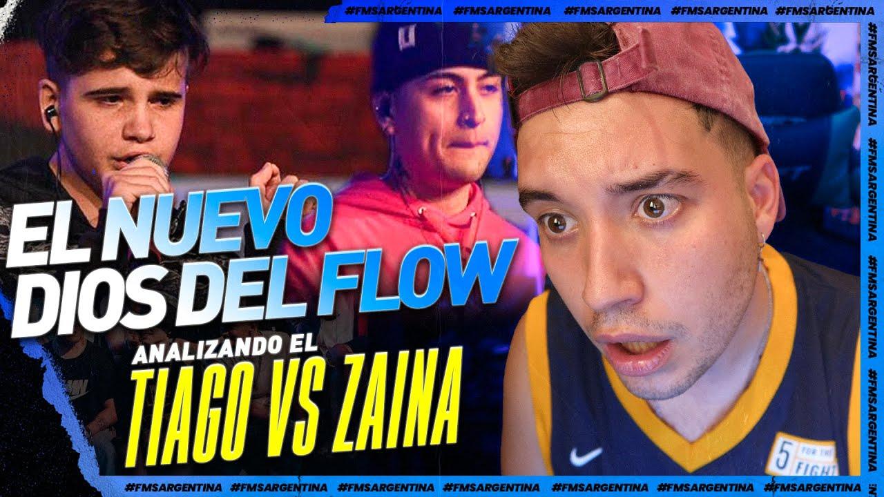 Download ¡¡¡TIAGO PARTE LA FMS ARGENTINA EN SU DEBUT!!!! ANALISIS TIAGO VS ZAINA J02 *FLOW NIVEL DIOS*