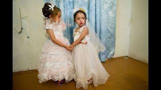 По цыганским законам жениху 11 лет, реальная свадьба.1-2 части.
