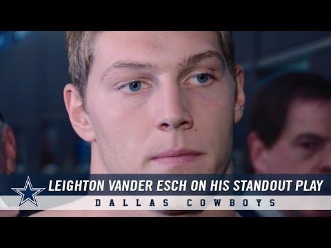 Rookie Linebacker Leighton Vander Esch on his Standout Play   Dallas Cowboys 2018