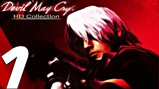Devil May Cry HD - Gameplay Walkthrough Part 1 - Prologue (Remaster) PS4/XB1/PC
