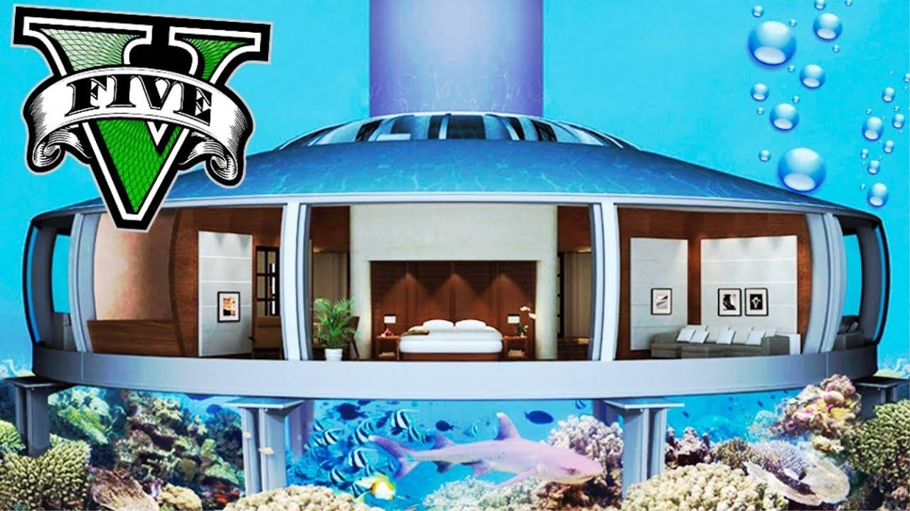 Mi casa bajo el agua con tiburones ballenas y delfines for Imagenes de hoteles bajo el agua