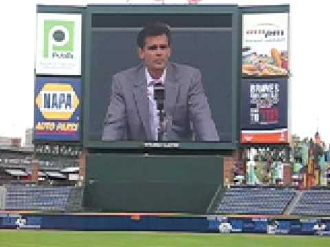 Chip Caray at Skip