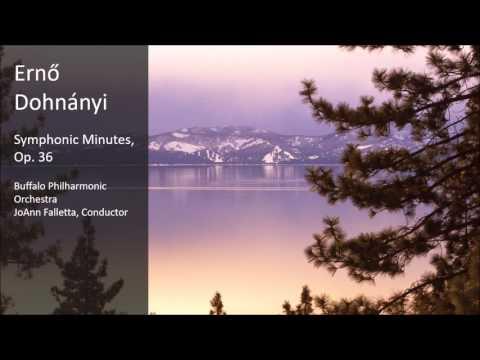 Erno Dohnányi - Symphonic Minutes, Op. 36