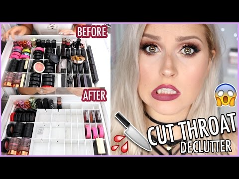Highlighters & Blushes (Lots Of MAC) 🔪 ORGANIZE AND DECLUTTER MY MAKEUP COLLECTION! 😏