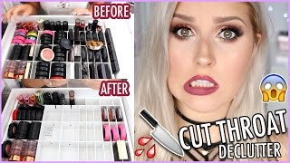 Highlighters  Blushes Lots Of MAC  ORGANIZE AND DECLUTTER MY MAKEUP COLLECTION  A HUGE makeup declutter Throwing away old makeup and sorting out the stuff I hate never use and just stuff I wanna get rid of Also showing my full makeup ...