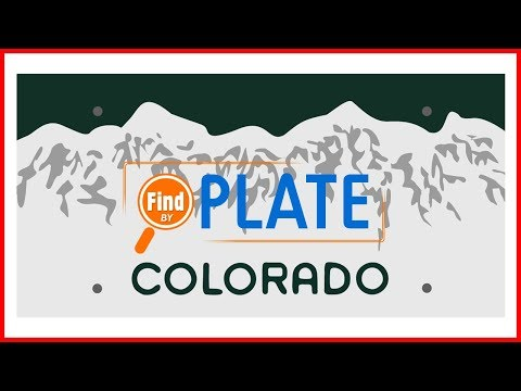 Search Colorado License Plates for Free