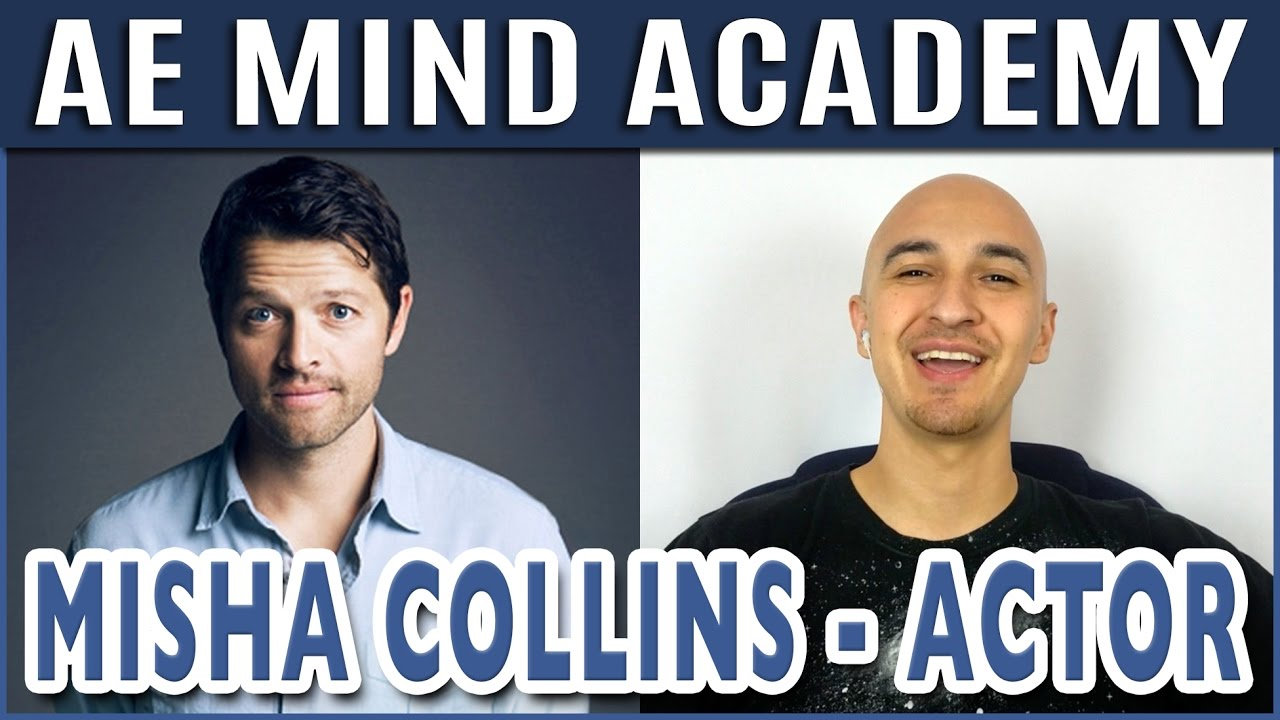 Misha Collins Interview Supernatural Actor W Superhuman Luis