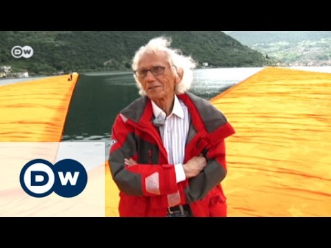 Walking on Water: Christo's Floating Piers | Euromaxx