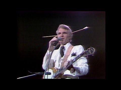 NEW! Steve Martin, stand up comedy 1979 (HD)