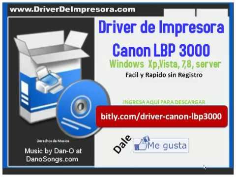 Драйвера на принтер canon 3000