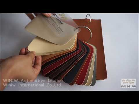 High Quality Faux Leather Automotive Upholstery Fabric