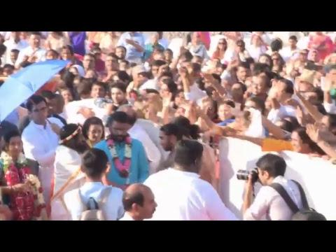 Maha Rudra Puja with Gurudev Sri Sri Ravi Shankar, Mumbai
