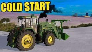 COLD START TIME.. | WINTER IS HERE | EP#69 | FARMING SIMULATOR 2017