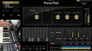 Roland A-800PRO - Mainstage Demo
