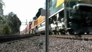 Rochelle, Illinois - Twelve trains in Ten Minutes