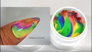 RAINBOW POLYGEL ---- Step By Step Full Tutorial - Make Some !  / Denisejohn65 🌈