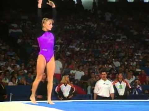 Shannon Miller Floor Exercise 1995 U S Gymnastics