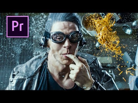 EXTREME SLOW MOTION in Premiere Pro (QUICKSILVER)