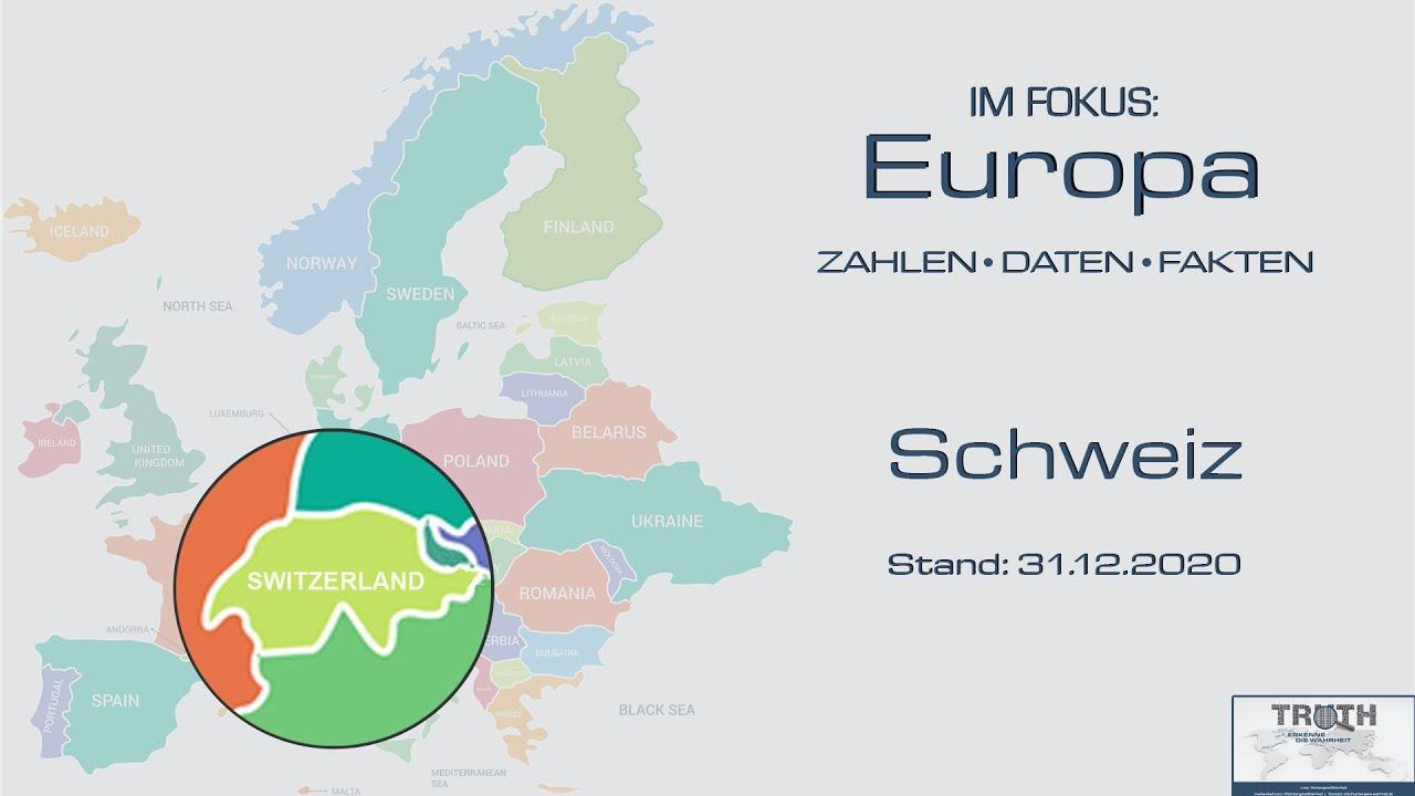 Schweiz: Zahlen - Daten - Fakten (Stand: 31.12.2020)