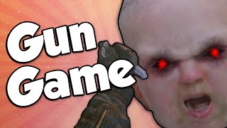 DEVIL CHILD! (Gun Game Reactions - Call of Duty: Black Ops 2)