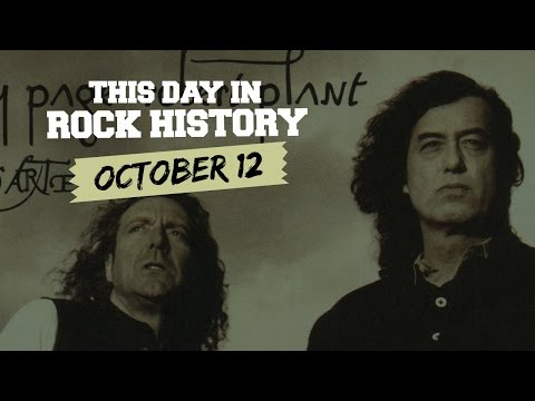 Robert Plant and Jimmy Page Debut, Sid Vicious Charged - October 12 in Rock History